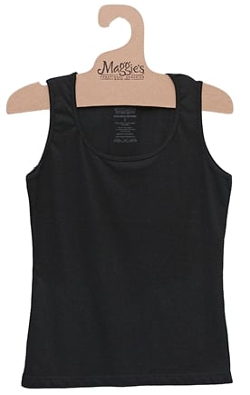 DROPPED: Maggie's Organics - Women's Tank Large Black - CLEARANCE PRICED