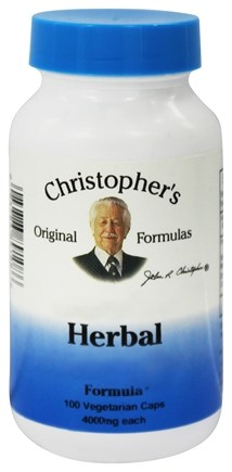Dr. Christopher's Original Formulas - Herbal Calcium Formula - 100 Vegetarian Capsules