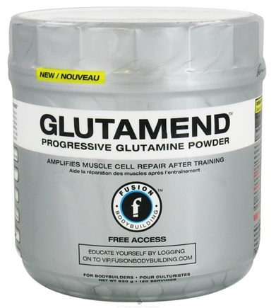 DROPPED: Fusion Bodybuilding - Glutamend - 630 Grams CLEARANCE PRICED
