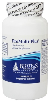 DROPPED: Biotics Research - ProMulti-Plus High Potency - 180 Capsules