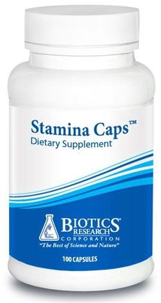 DROPPED: Biotics Research - Stamina Caps - 100 Capsules CLEARANCE PRICED