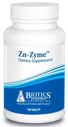 DROPPED: Biotics Research - Zn-Zyme - 100 Tablets CLEARANCE PRICED