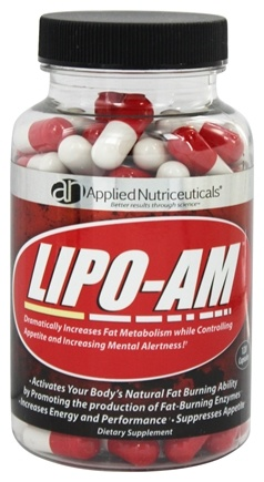DROPPED: Applied Nutriceuticals - Lipotrophin-AM Daytime Metabolic Booster 600 mg. - 120 Capsules LUCKY PRICE