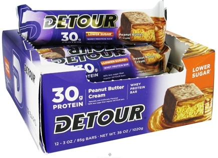 DROPPED: Forward Foods - Detour Bar Low Sugar Peanut Butter Cream - 3 oz.