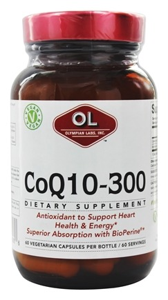 Olympian Labs - Coenzyme Q10 300 mg. - 60 Capsules