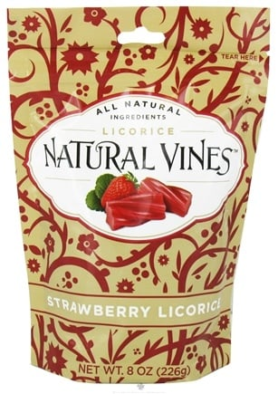 DROPPED: Natural Vines - Strawberry Licorice - 8 oz.