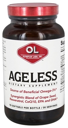 DROPPED: Olympian Labs - Ageless - 90 Softgels
