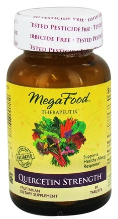 DROPPED: MegaFood - Therapeutix Quercetin Strength - 30 Vegetarian Tablets CLEARANCE PRICED