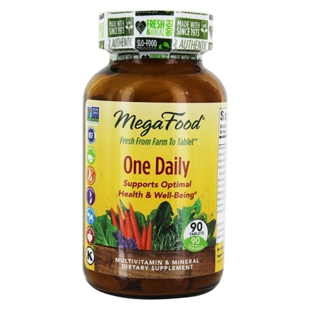 MegaFood - DailyFoods One Daily - 90 Vegetarian Tablets