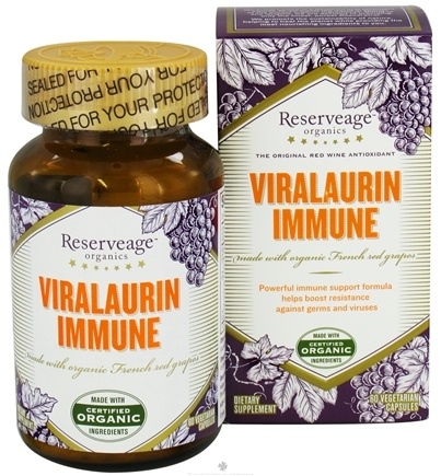 DROPPED: ReserveAge Organics - Viralaurin Immune - 60 Vegetarian Capsules CLEARANCE PRICED