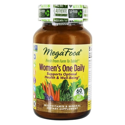 MegaFood - DailyFoods Women's One Daily - 60 Vegetarian Tablets