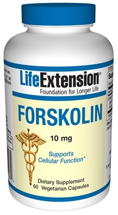 DROPPED: Life Extension - Forskolin 10 mg. - 60 Capsules CLEARANCE PRICED