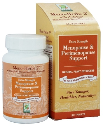 DROPPED: At Last Naturals - Meno Herbs 2 With Protykin - 90 Tablets