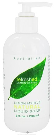 DROPPED: Tea Tree Therapy - Australian Liquid Soap Refreshed Lemon Myrtle - 8 oz. CLEARANCE PRICED