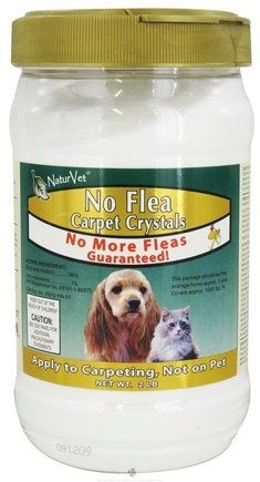 DROPPED: NaturVet - No Flea Carpet Crystal Powder - 2 lbs. CLEARANCE PRICED