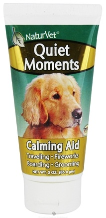 DROPPED: NaturVet - Quiet Moments Calming Aid Gel For Dogs - 3 oz. CLEARANCE PRICED