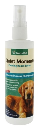 DROPPED: NaturVet - Quiet Moments Herbal Calming Spray For Dogs - 8 oz. CLEARANCE PRICED