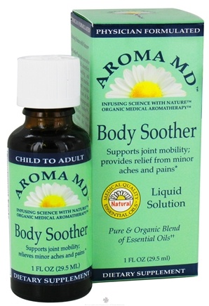 DROPPED: Aroma MD - Body Soother Liquid Solution - 1 oz. CLEARANCE PRICED