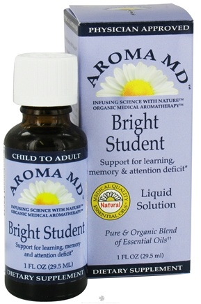 DROPPED: Aroma MD - Bright Student Liquid Solution - 1 oz. CLEARANCE PRICED