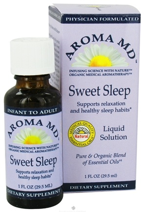 DROPPED: Aroma MD - Sweet Sleep Liquid Solution - 1 oz. CLEARANCE PRICED