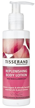 DROPPED: Tisserand Aromatherapy - Body Lotion Replenishing Wild Rose & Lemon Leaf - 6.6 oz. CLEARANCE PRICED