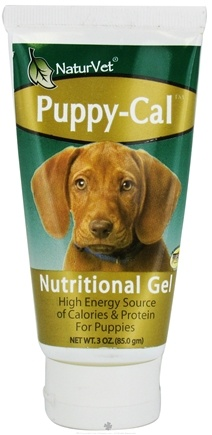 DROPPED: NaturVet - Puppy-Cal Nutritional Gel High Energy Source - 3 oz. CLEARANCE PRICED