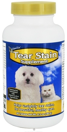 DROPPED: NaturVet - Tear Stain Supplement - 60 Tablets