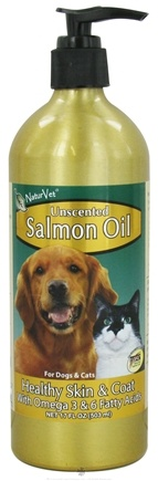 DROPPED: NaturVet - Salmon Oil Unscented - 17 oz.