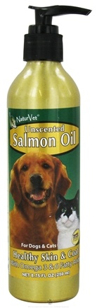 DROPPED: NaturVet - Salmon Oil Unscented - 8.75 oz. CLEARANCE PRICED