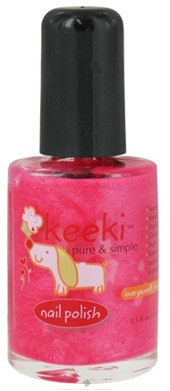 DROPPED: Keeki Pure & Simple - Nail Polish Cotton Candy - 0.5 oz. CLEARANCE PRICED