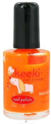 DROPPED: Keeki Pure & Simple - Nail Polish Orange Sorbet - 0.5 oz. CLEARANCE PRICED