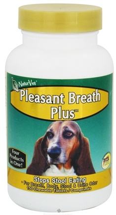 DROPPED: NaturVet - Pleasant Breath Plus - 150 Chewable Tablets CLEARANCE PRICED