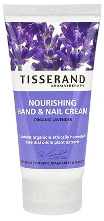 DROPPED: Tisserand Aromatherapy - Hand & Nail Cream Nourishing Organic Lavender - 2.5 oz. CLEARANCE PRICED