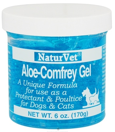 DROPPED: NaturVet - Aloe Comfrey Gel For Dogs & Cats - 6 oz.