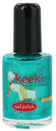DROPPED: Keeki Pure & Simple - Nail Polish Grasshopper Pie - 0.5 oz. CLEARANCE PRICED