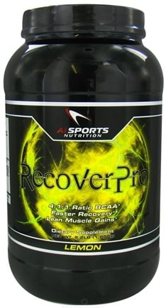 DROPPED: AI Sports Nutrition - RecoverPro Lemon - 2.2 lbs. CLEARANCE PRICED