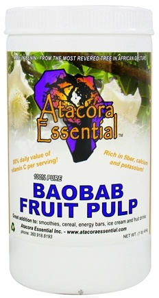 DROPPED: Atacora Essential - Baobab Fruit Pulp - 1 lbs.