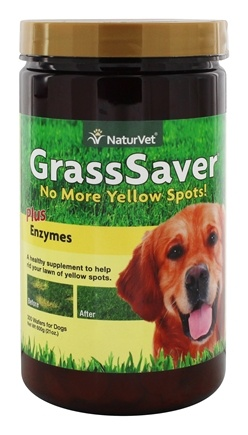 DROPPED: NaturVet - GrassSaver - 300 Chewable Wafers