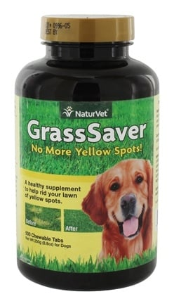 DROPPED: NaturVet - GrassSaver - 500 Tablets CLEARANCE PRICED