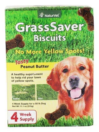 DROPPED: NaturVet - GrassSaver Biscuit - 11.1 oz.