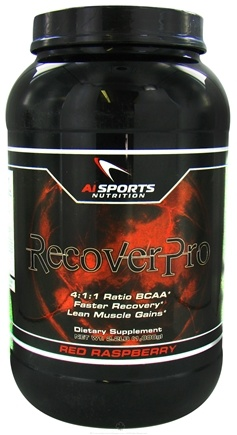 DROPPED: AI Sports Nutrition - RecoverPro Red Raspberry - 2.2 lbs. CLEARANCE PRICED