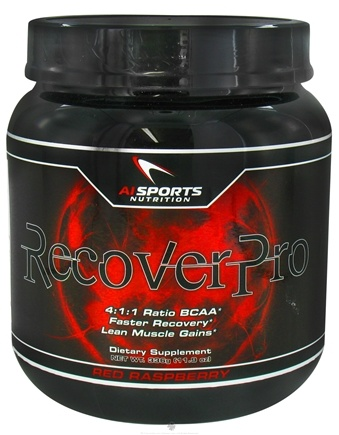 DROPPED: AI Sports Nutrition - RecoverPro Red Raspberry - 336 Grams CLEARANCE PRICED
