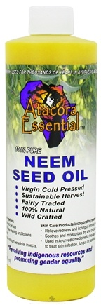 DROPPED: Atacora Essential - Neem Seed Oil - 16 oz.