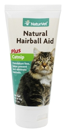 DROPPED: NaturVet - Natural Hairball Aid With Catnip - 3 oz.