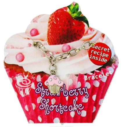 DROPPED: Zorbitz - Sweet Life Cupcake Bracelet Strawberry Shortcake - CLEARANCE PRICED
