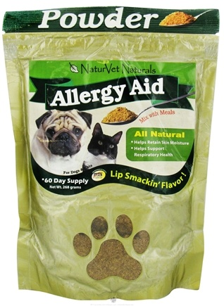 DROPPED: NaturVet - Allergy Aid Powder Supplement - 9 oz. CLEARANCE PRICED