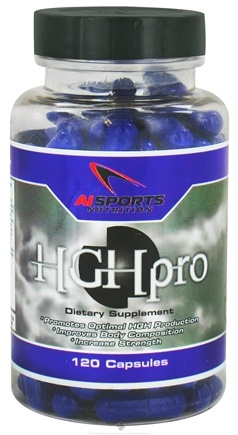 DROPPED: AI Sports Nutrition - HGHpro - 120 Capsules CLEARANCE PRICED