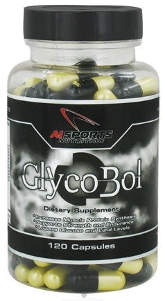 DROPPED: AI Sports Nutrition - GlycoBol - 120 Capsules CLEARANCE PRICED
