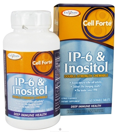 DROPPED: Enzymatic Therapy - Cell Forte With IP-6 & Inositol - 60 Chewable Tablets CLEARANCE PRICED