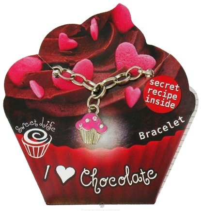 DROPPED: Zorbitz - Sweet Life Cupcake Bracelet I Love Chocolate - CLEARANCE PRICED